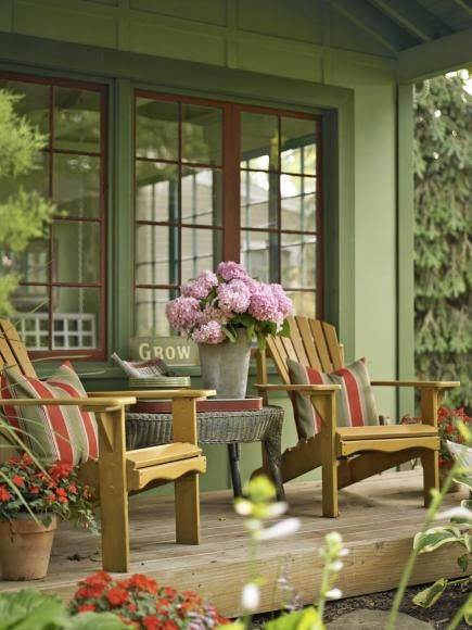 Enjoy your porch more by enhancing its look and comfort with ideas from these beautiful spaces.