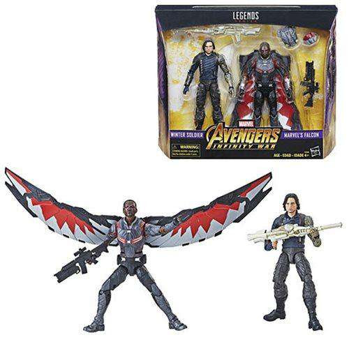 Image of Marvel Studios: The First Ten Years Marvel Legends - Winter Soldier and Falcon - APRIL 2019