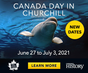 Ride the rails and watch the whales in Churchill this summer!