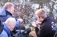 Countryfile filming the Angling Trust on the River Avon