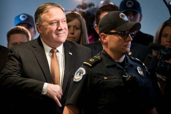 The Senate Foreign Relations Committee will vote Monday on Mike Pompeo's nomination to be the new secretary of state.