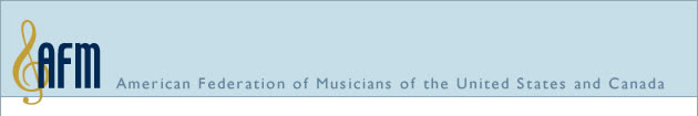 AFM - American Federation of Musicians of the United States and Canada