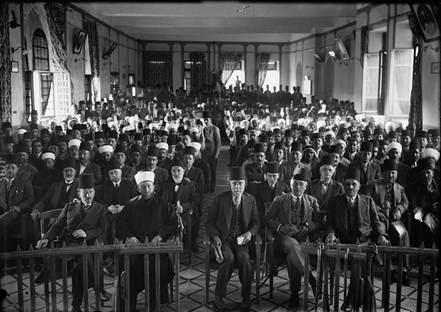 Mufti of Jerusalem 1929 Protest Gathering