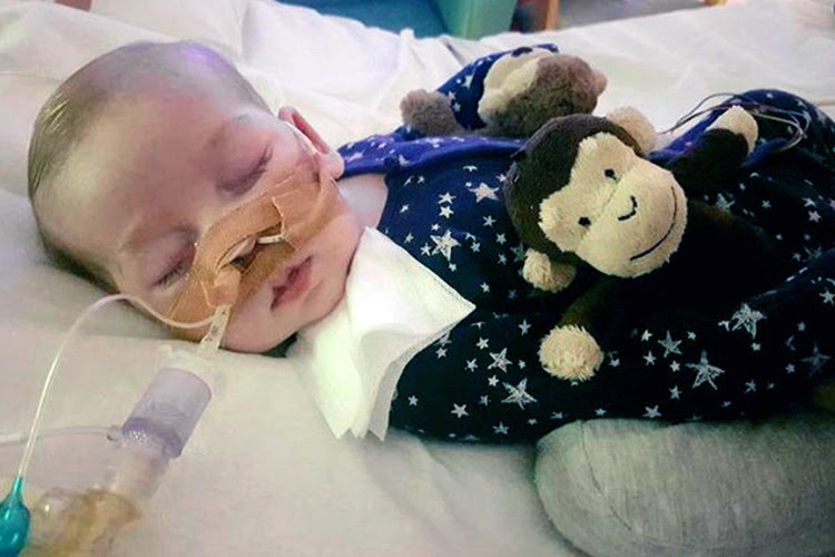 Charlie Gard has a rare genetic disease called mitochondrial depletion syndrome. (Family of Charlie Gard via AP)