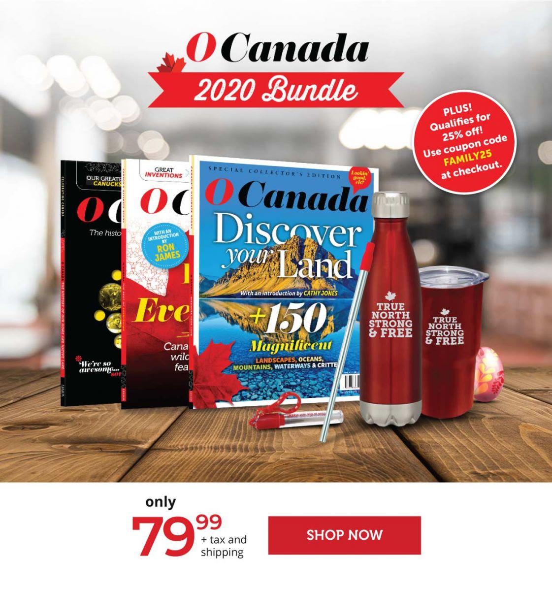 2020 O Canada Bundle