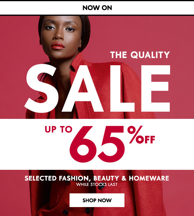 65% off The Quality Sale