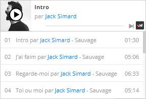 Ecoutez le nouvel album de Jack Simard