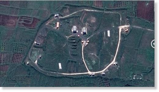 Homs target before