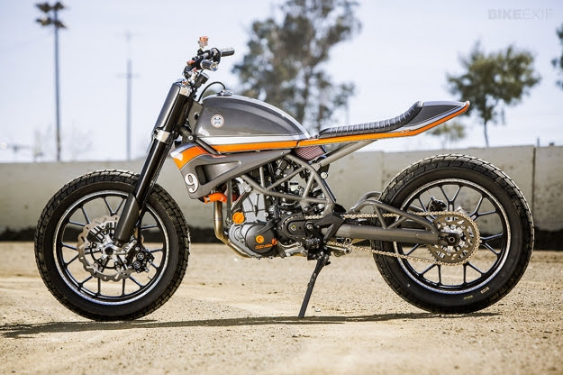 KTM 690-based tracker by Roland Sands Design