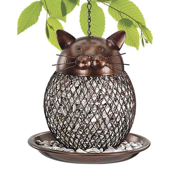 Cat Bird Feeder: