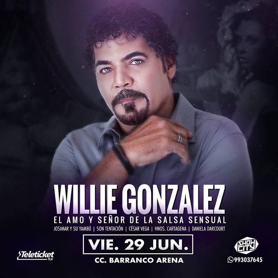 Willie Gonzalez - Barranca 29 junio