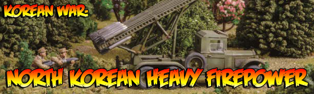 Korean War: North Korean Heavy Firepower