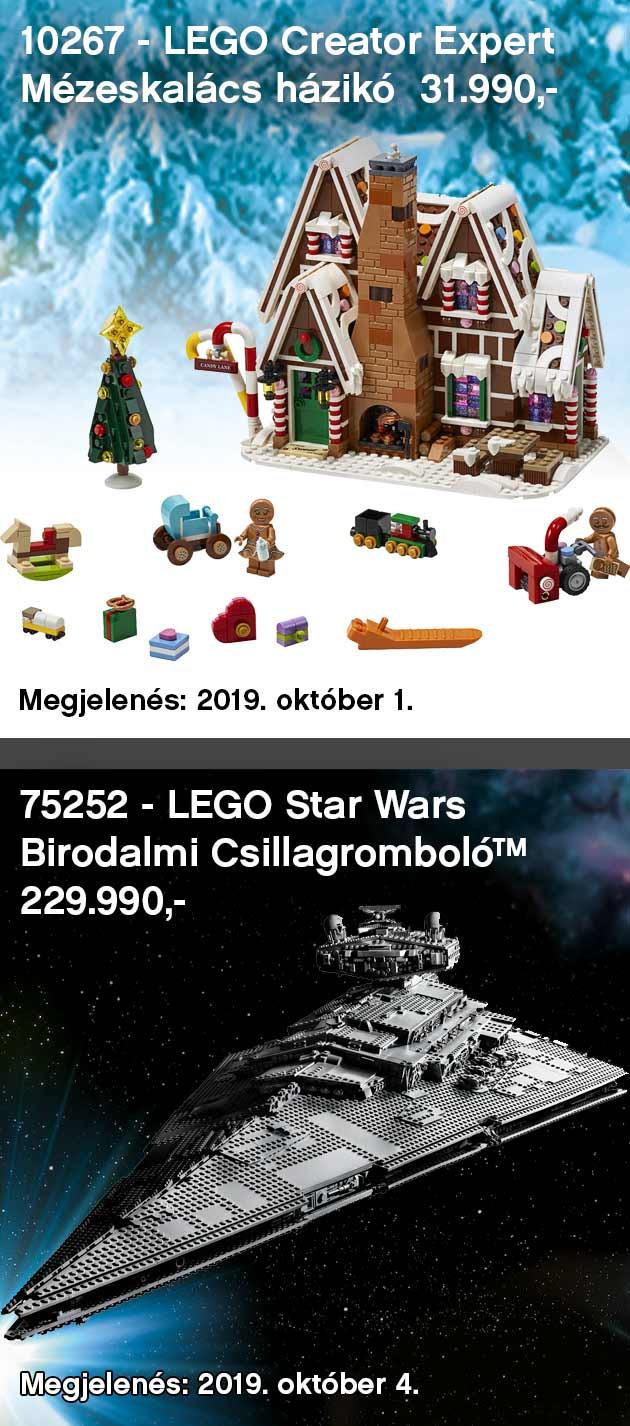 LEGO Újdonság előrendelés