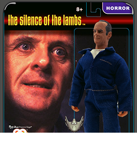 The Silence of the Lambs Hannibal Lecter Mego Figure