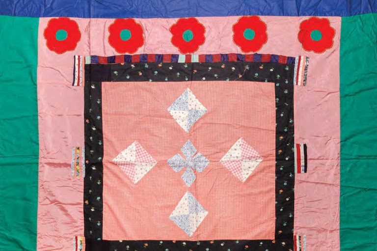 Photo of a quilt from a museum collection.