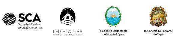 Sociedad Central de Arquitectos - Legislatura de la Ciudad - H Concejo Deliberante de Tigre - H Concejo Deliberante de Vicente Lpez