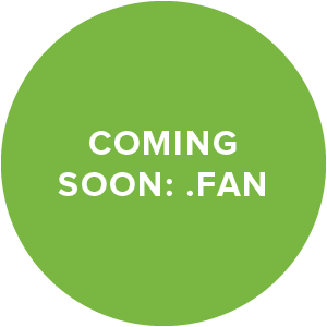 Coming soon: .FAN