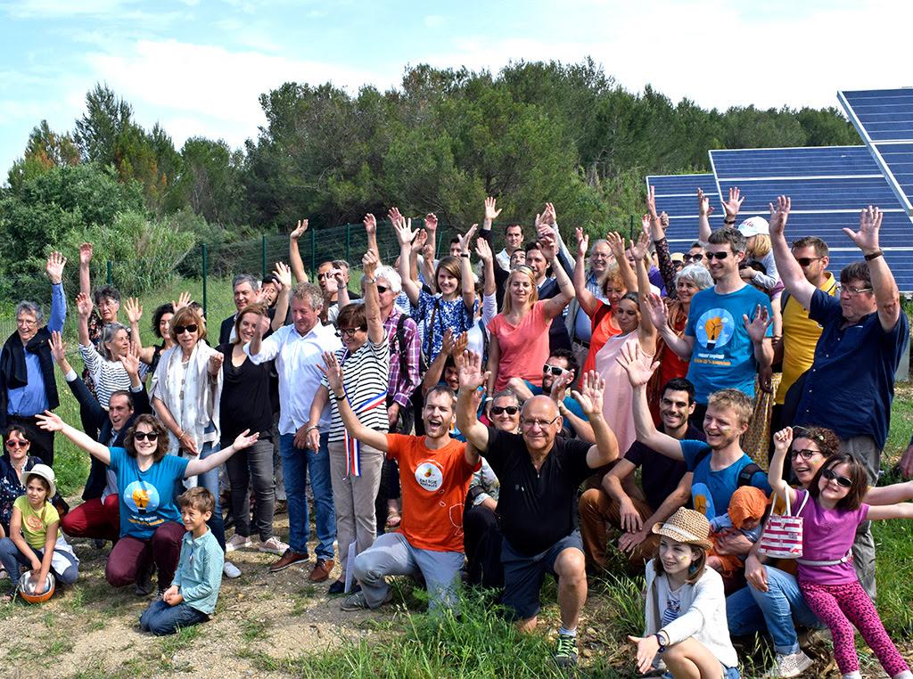 Samedi 26 mai : inauguration du parc phovoltaïque citoyen des Survoltés d'Aubais