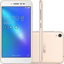 Smartphone Asus Zenfone Live 16Gb Dourado Dual Chip Android 6.0 Tela 5