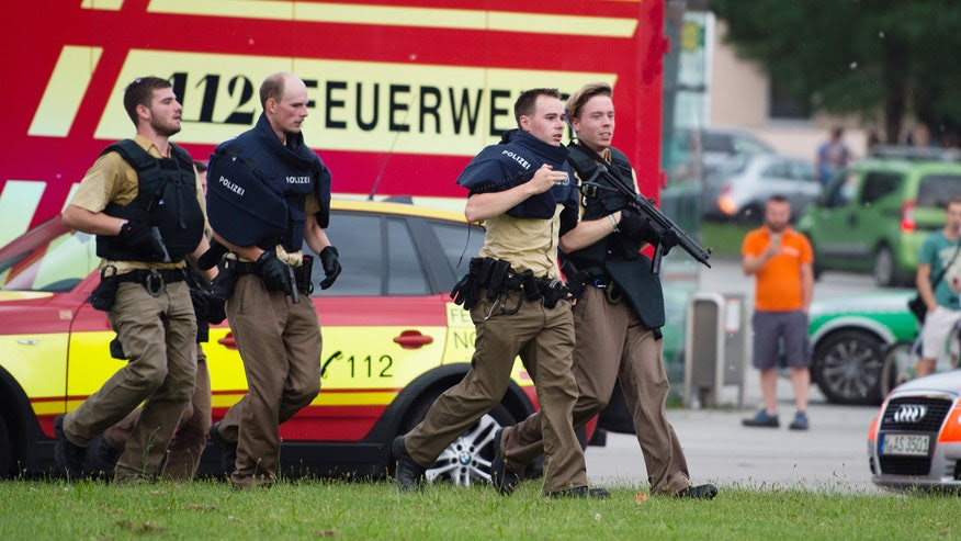 LIVE: Multiple Deaths Following Shooting Rampage at Munich's Olympia Shopping Centre