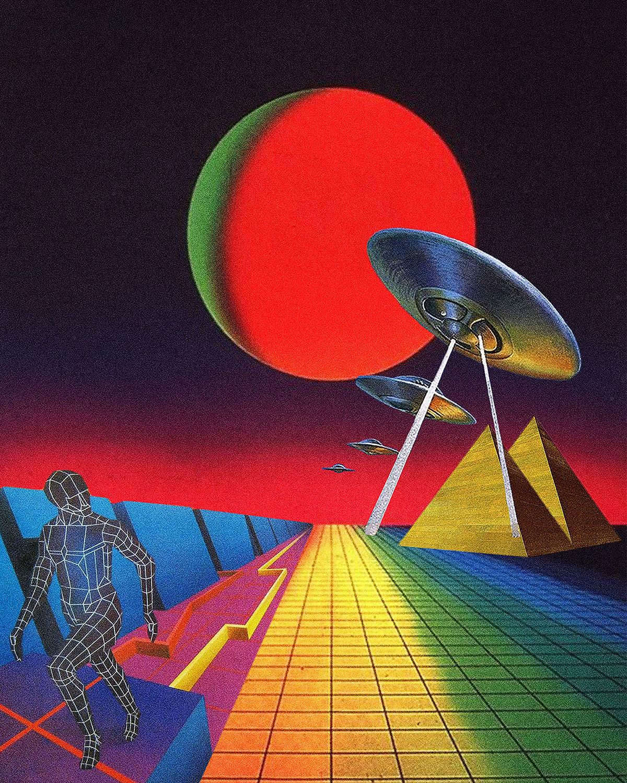 futuristic alien artExtraterrestres que visitam a Terra provam que a burrice e o mau gosto são universais