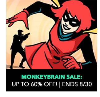 Monkeybrain Sale: up to 60% off! Sale ends 8/30.
