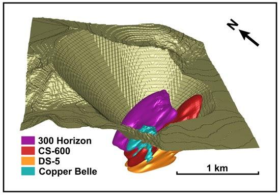 American Creek Resources Treaty Creek pit shell illustration