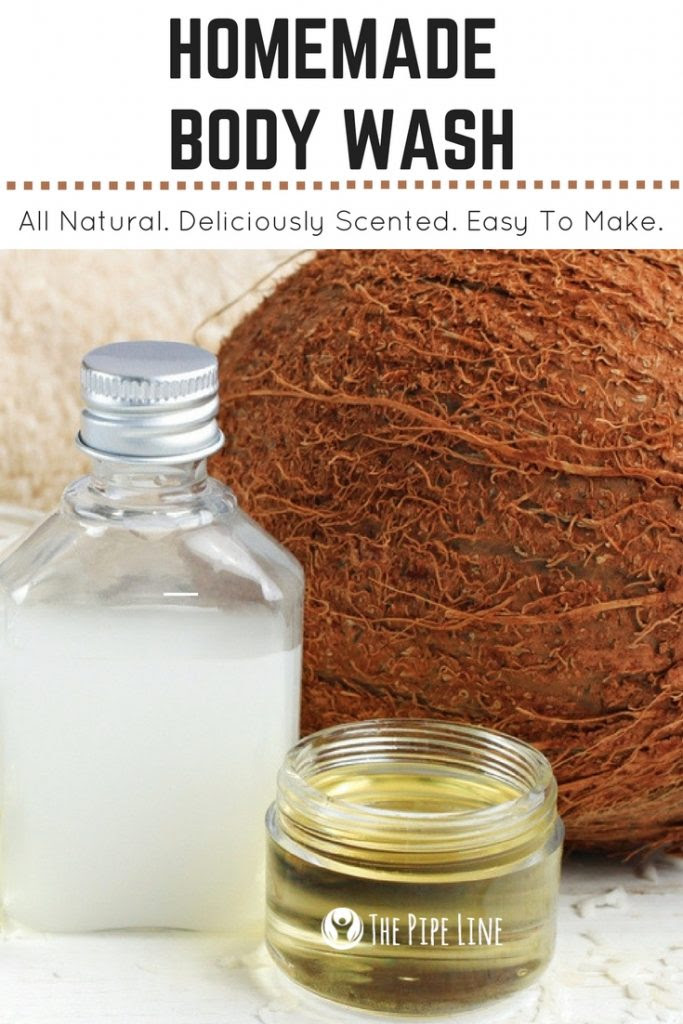 Two Step Homemade Body Wash Th...