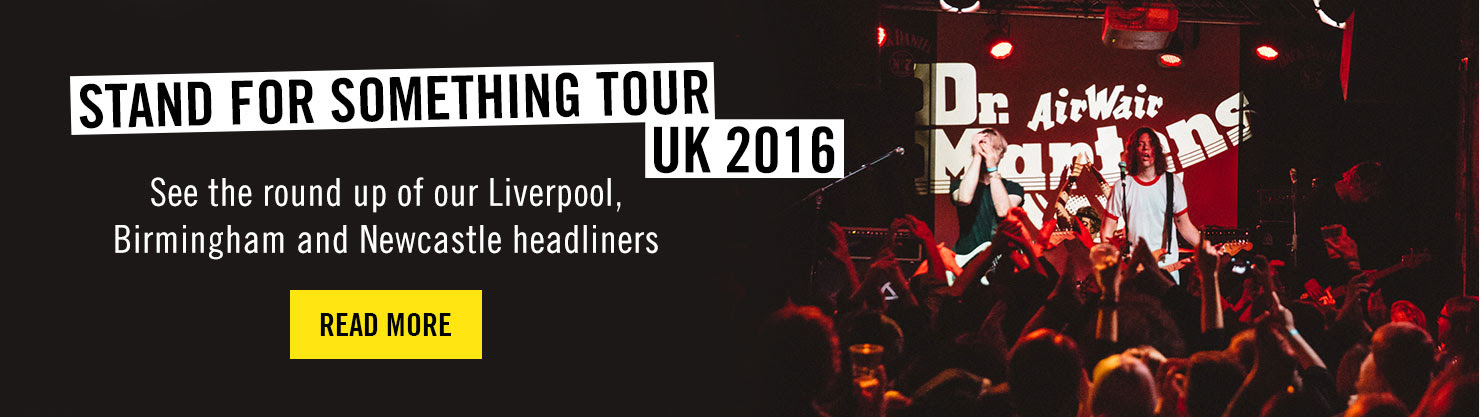 Stand For Something Tour 2016 Round Up - Read More