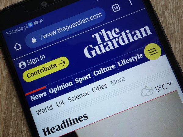 Guardian digital reader revenue climbs, half from outside UK