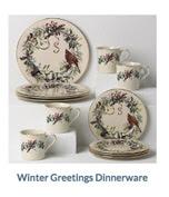 Winter Greetings Dinnerware