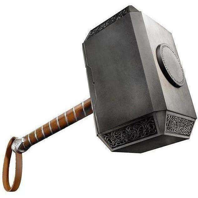 Image of Marvel Legends Series Mjolnir Electronic Hammer