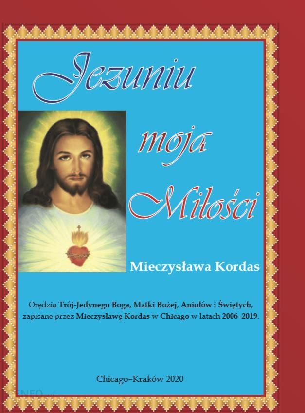 Książka religijna Jezuniu moja Miłości - zdjęcie 1