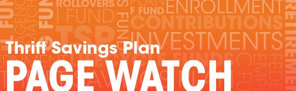 thrift savings plan page watch