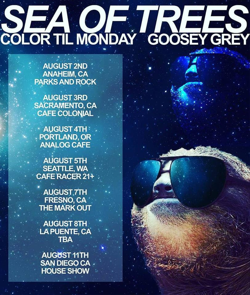 color til monday tour