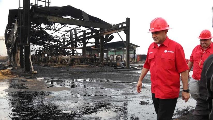 """Ministro de Petróleo de Venezuela denuncia """"atentado"""" contra una estación de bombeo de PDVSA"""