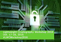 Lightweight Cryptography Workshop