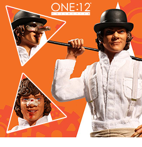 A CLOCKWORK ORANGE ONE:12 COLLECTIVE ALEX DELARGE FIGURE
