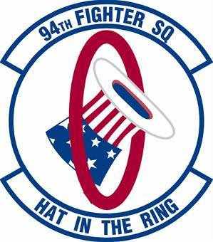 94TH Hat in the Ring Squadron logo