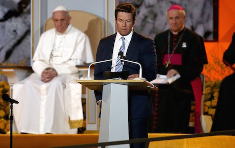 Mark Wahlberg Asks Pope's Forgiveness For 'Ted'