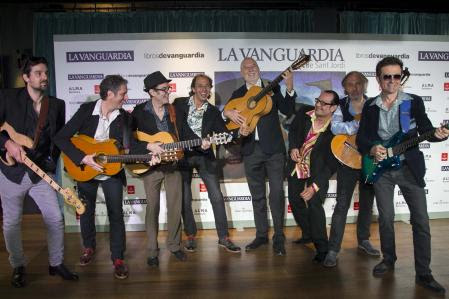 FIESTA LA VANGUARDIA SANT JORDI -GRUPO DE FLAMENCO LOS MANOLOS Y MARIUS CAROL 22-04-17 INMA SAINZ DE BARANDA