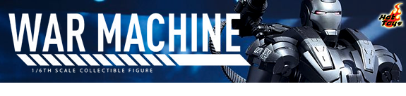 HOT TOYS 1/6 SCALE DIE-CAST WAR MACHINE
