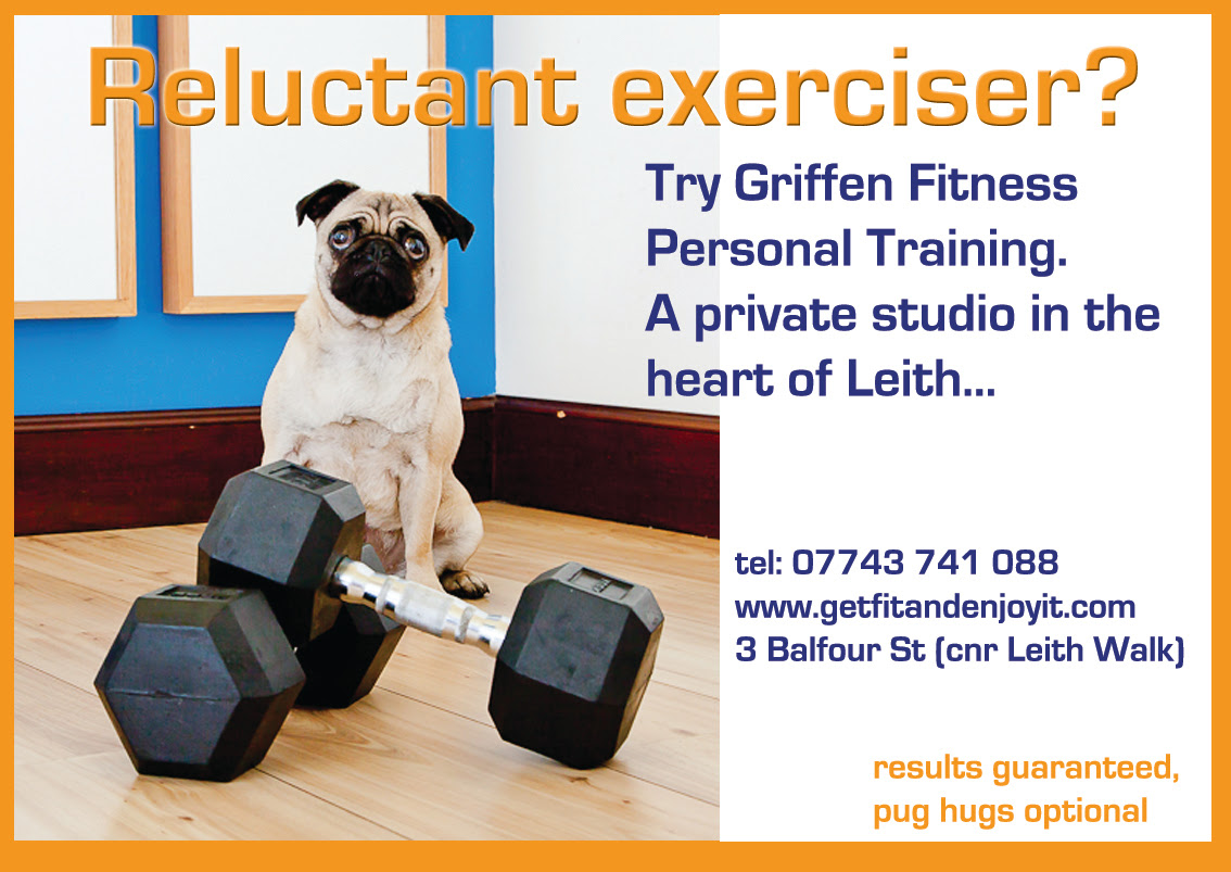Griffen Fitness is dog-friendly