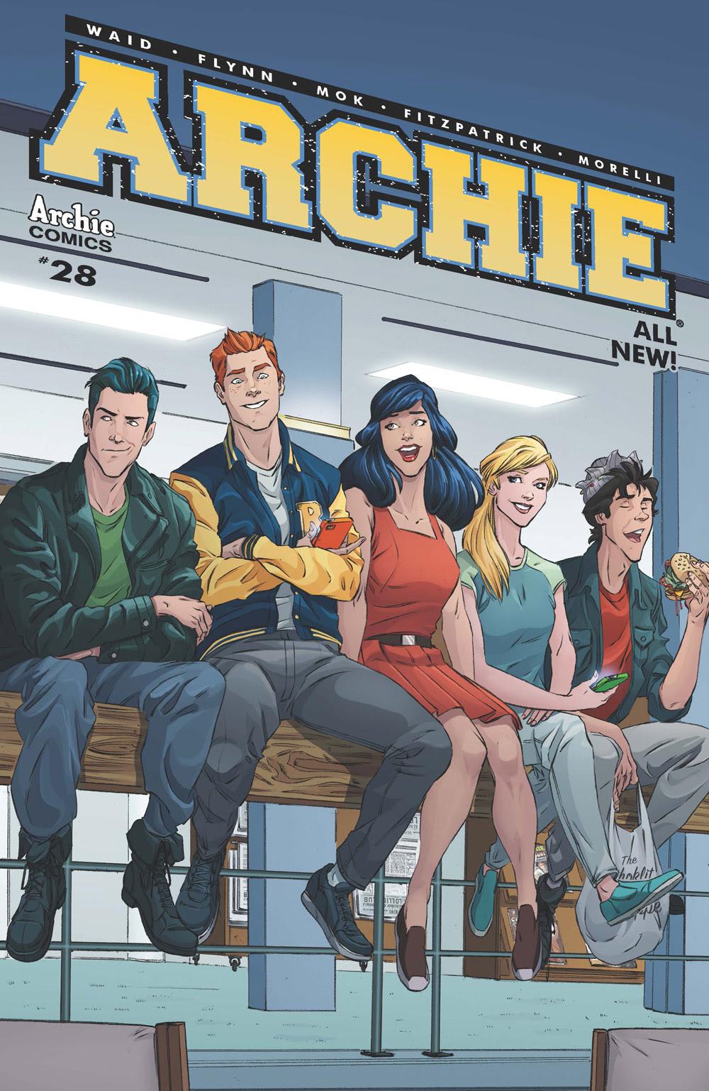 Archie #28 CVR C: Schoening