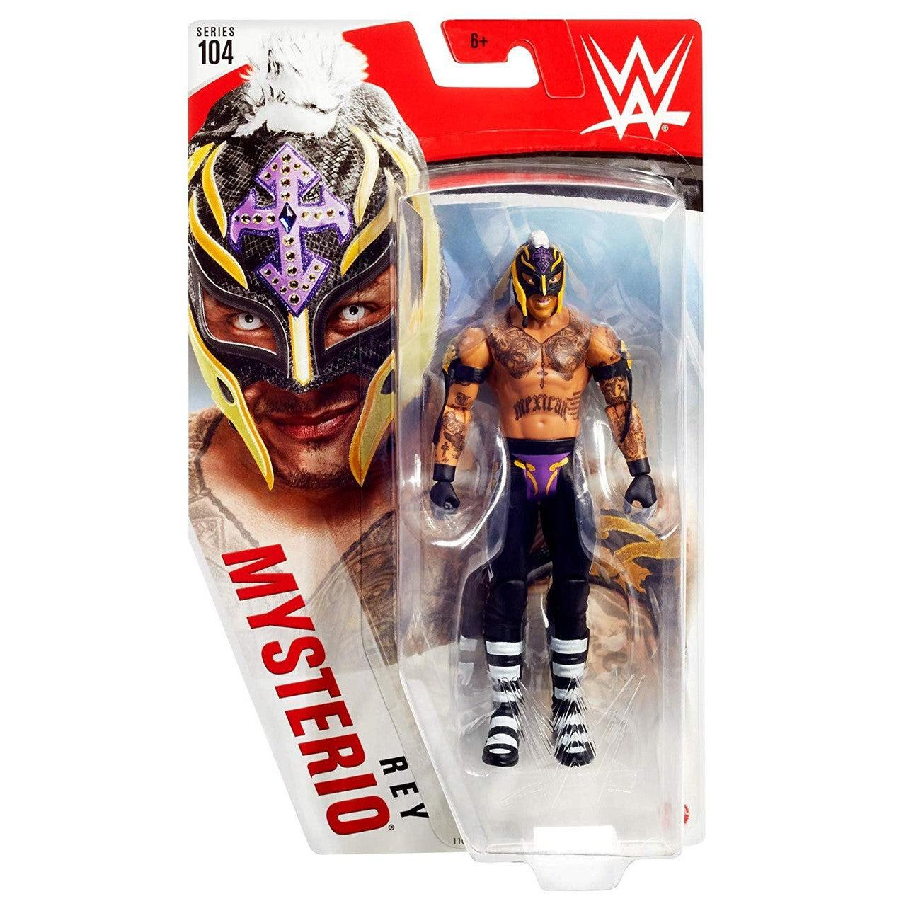 Image of WWE Basic Figure Series 104 - Rey Mysterio