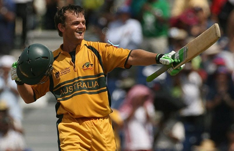 Adam Gilchrist had a great cricketing career for Australia.