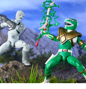 Power Rangers Lightning Collection Fighting Spirit Green Ranger & Mighty Morphin Putty Two-Pack