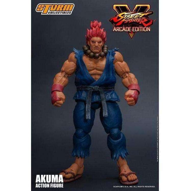 Image of Street Fighter V Akuma (Arcade Edition) 1/12 Scale Figure