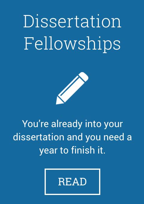 Dissertation Fellowship Program