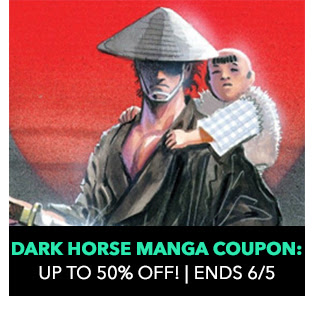 Dark Horse Manga Coupon: up to 50% off! Sale ends 6/5.
